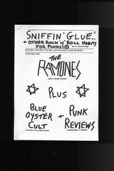 Sniffin' Glue Issue 1